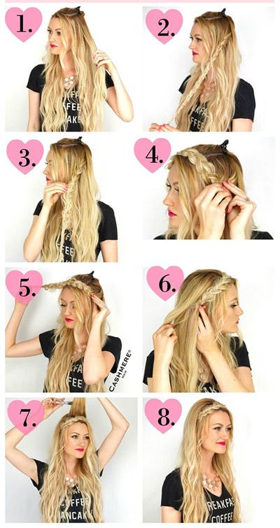 BRAIDED HEADBAND Hair
