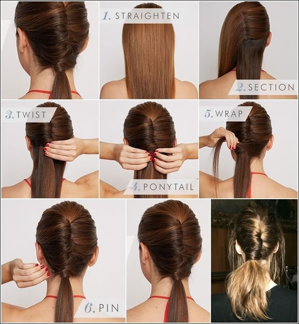 Pretty Ponytail Hairstyle