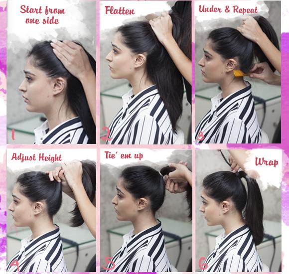 Sleek Ponytail Hairstyle