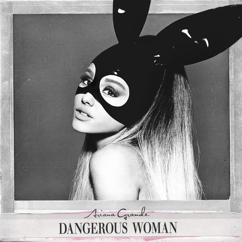 Ariana Grande Wears Henri Bendel on Dangerous Woman Album Cover