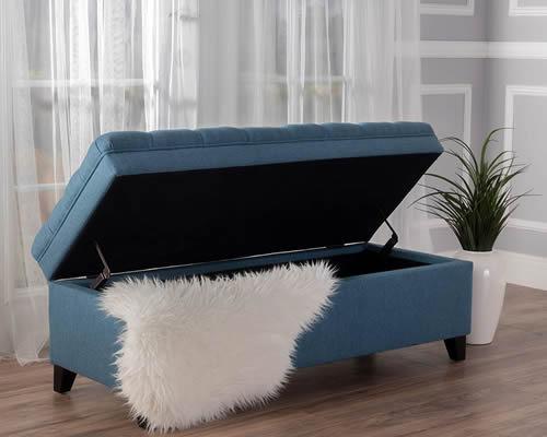 Laguna Living Room Storage Ottoman