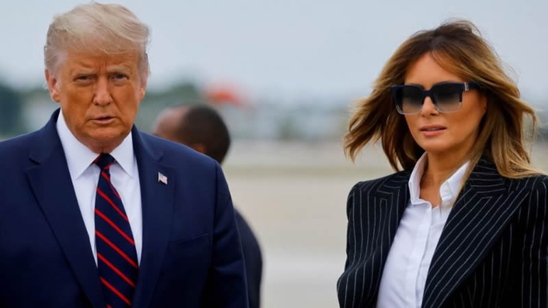 Donald and Melania Trump received Covid vaccine