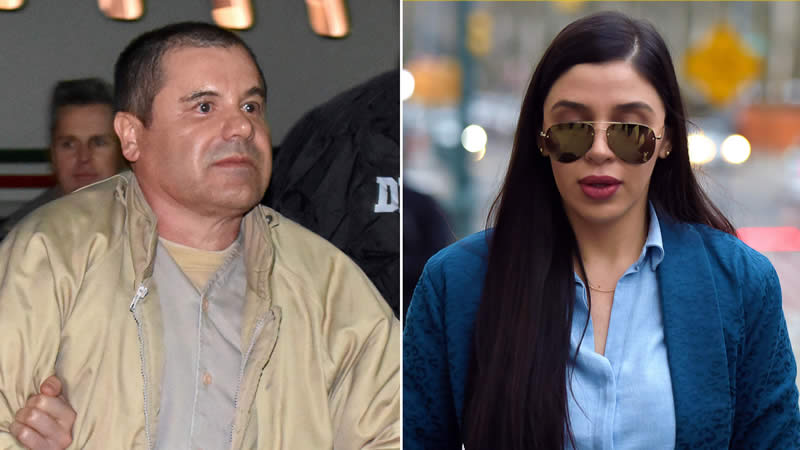El Chapo worried about wife