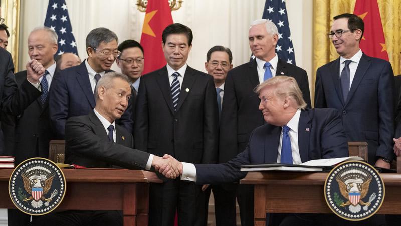 China Slams Trump