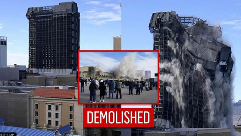 Trump Plaza Hotel get demolished